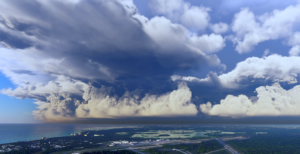 FS2020 Clouds Thunderstorm